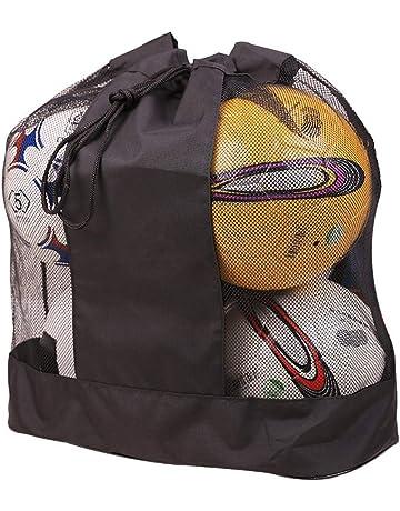1d86e0aa6 Extra Large Waterproof Mesh Equipment Duffel Bag Heavy Duty Net Ball  Shoulder Bag Basketball Volleyball Soccer