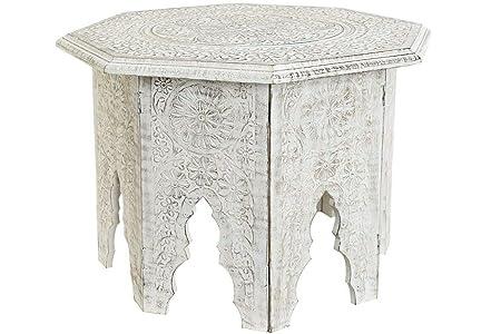 Tavolino In Legno Etnico.Item Tavolino Etnico In Legno Stile Shabby Pieghevole Tavolino