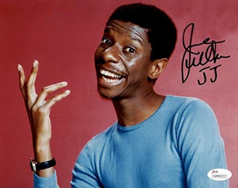 Jimmie Walker Jj Signed Autographed Good Times 8x10 Photo Jsa