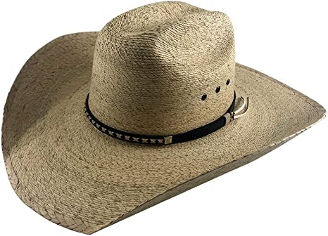 Palmoro The Original Truman Cowboy Moreno Palm Straw Hat