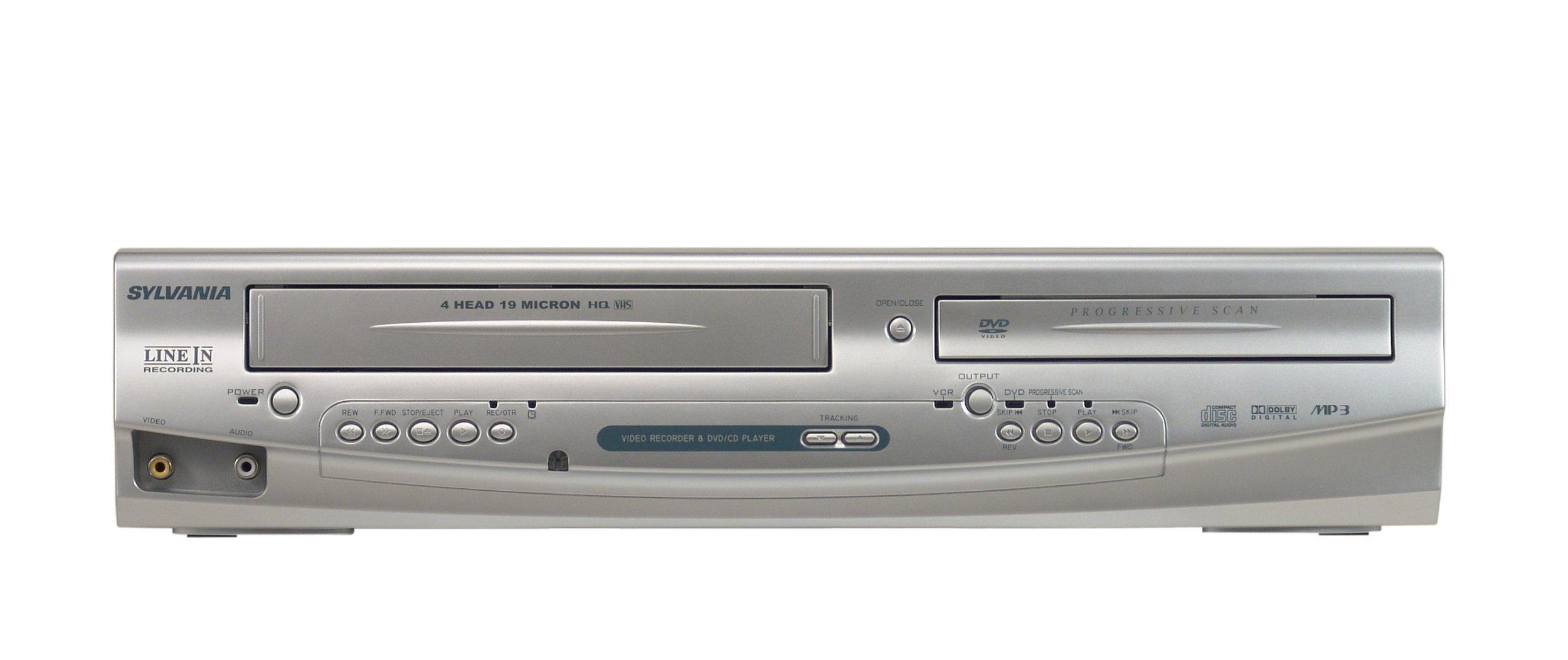 Sylvania DV220SL8 Tunerless Dual Deck DVD Player/VCR Combo