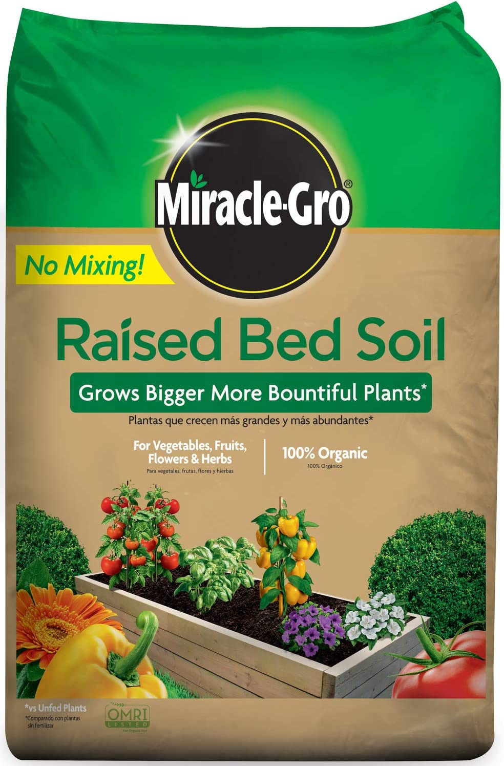 Miracle-Gro Raised Bed Soil