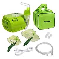 Omnibus BR-CN116B - Inhalator nebulizador, de color verde