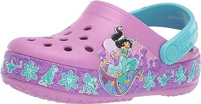 Crocs Kids Boys and Girls Disney Jasmine from Aladdin Band Clog