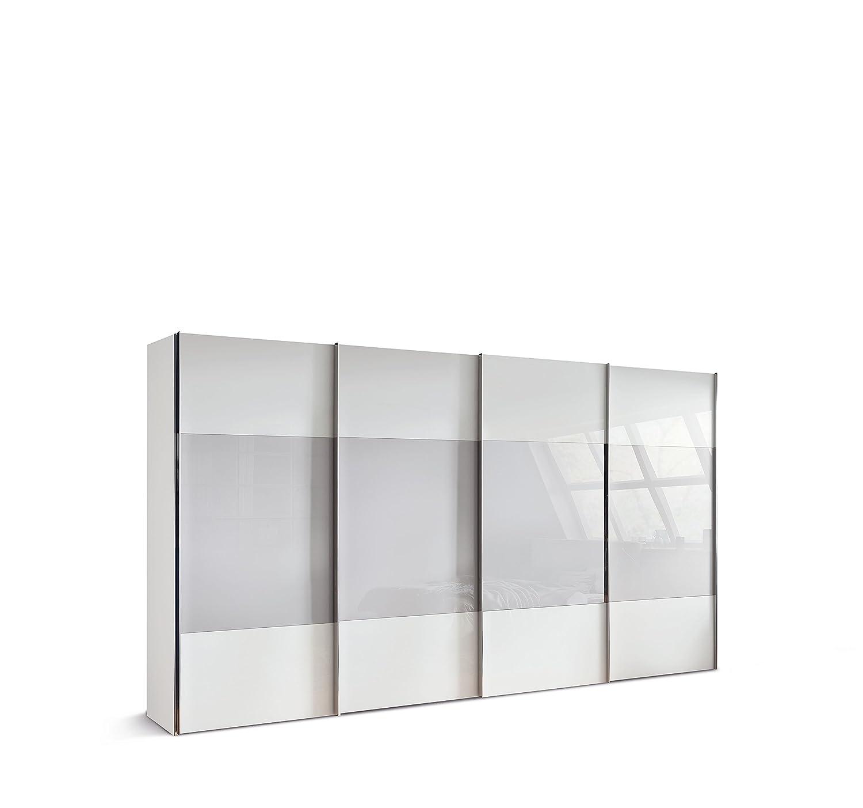 Einzigartig Schwebeschrank Galerie Von Express Möbel One320 4-türiger Schwebeschrank, Holzdekor, Polarweiß,
