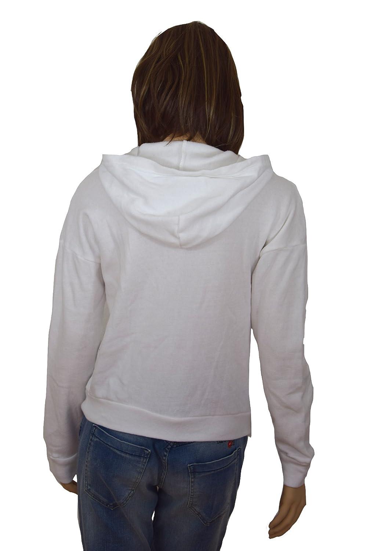Hollister - Sudadera - Chaqueta - para mujer Weiß XS: Amazon ...