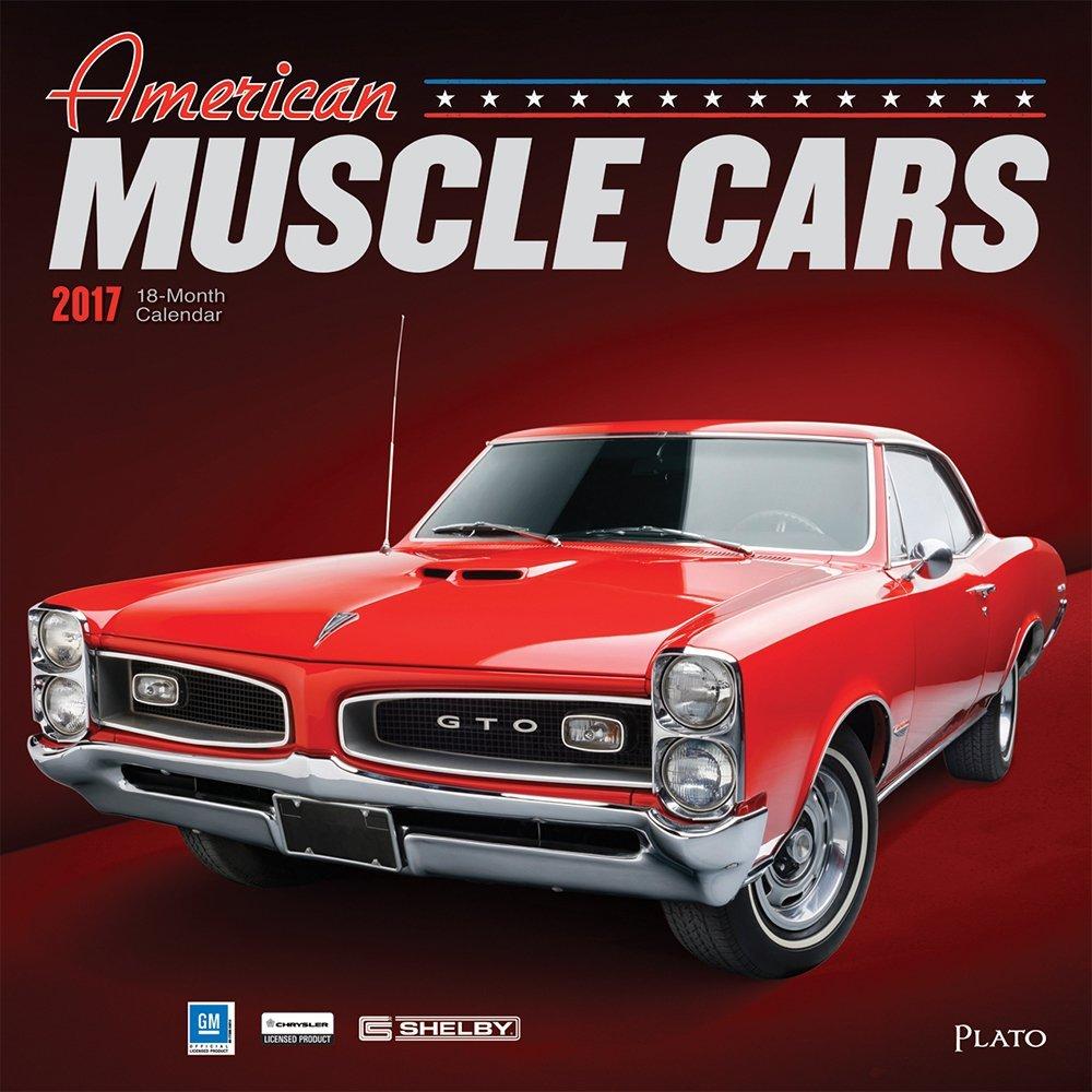 American Muscle Cars 2017 Square Plato (ST Foil): Plato ...