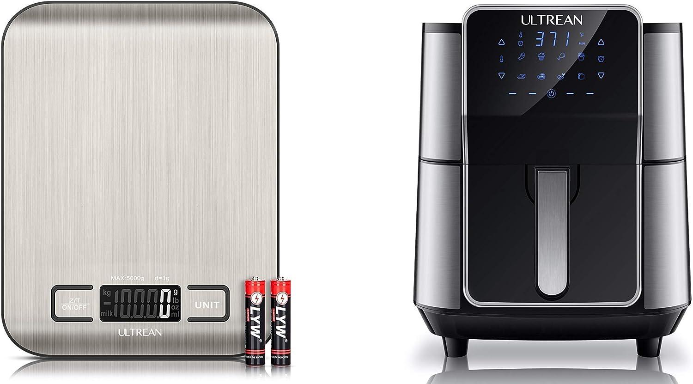 Ultrean Digital Food Scale and Ultrean 6 Quart Air Fryer