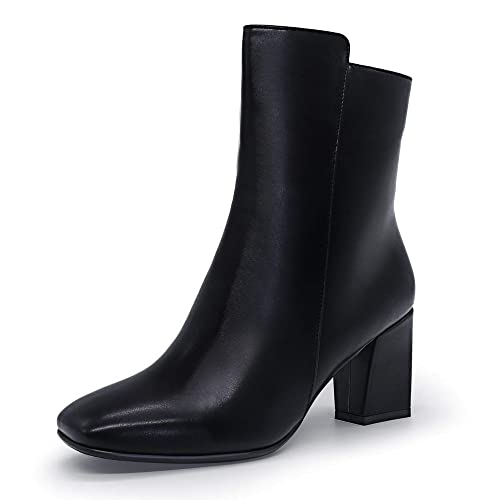 Amazon.com: IDIFU Ada - Botines de tobillo para mujer, con ...