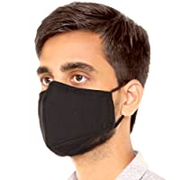 Meded Breathe Pure Breathe Healthy Anti Pollution PM 2.5 Face Mask (Black)