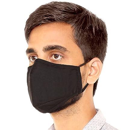 8eb65efeeda Meded CMFBBLCK Anti Pollution Face Mask (Black)  Amazon.in  Car ...