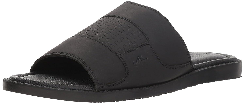 Tommy Bahama Men's Gennadi Palms Slide Sandal B07BTHC86N 8 D(M) US|Black