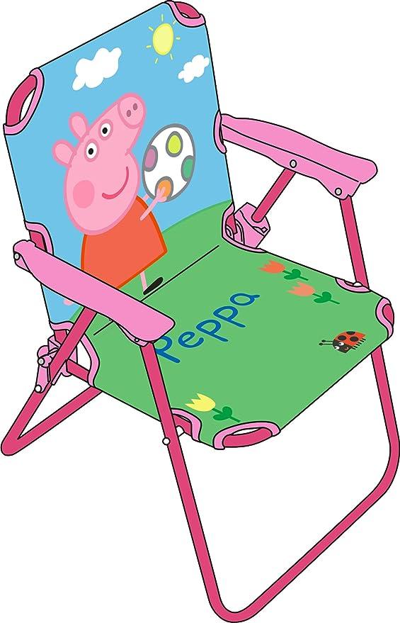 Stoff Arditex Klappstuhl f/ür Kinder unter Lizenz Barbie aus Metall Ma/ße 38/x 32/x 53/cm 38/x 32/x 53/cm