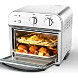 Geek Chef Convection Air Fryer Toaster Oven, 4 Slice Toaster Airfryer Countertop Oven, Roast, Bake, Broil,Reheat,Fry Oil-Free