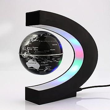 Yosoo c shape decoration magnetic levitation floating globe world yosoo c shape decoration magnetic levitation floating globe world map led light christmas gift gumiabroncs Gallery