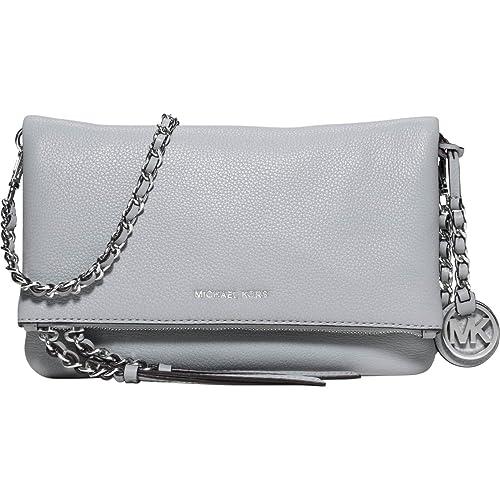 7e7fd59c129c MICHAEL Michael Kors Corinne Medium Messenger Crossbody Bag Dove:  Amazon.ca: Shoes & Handbags