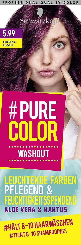 Schwarzkopf #Pure Color Washout 5.99 - Tinte para el cabello ...