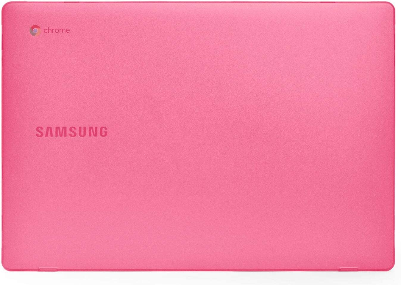 mCover Hard Shell Case for New 2020 15.6'' Samsung ChromeBook 4+ XE350XBA Series Laptop (Pink)