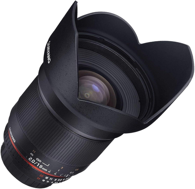 Samyang 16 mm F2.0 Lens for Fujifilm-X