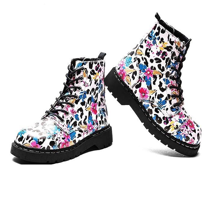 Women's Pink u Leopard PrintAmazon 7 Anarchic kShoes T Eye Boot tdsQhrCx