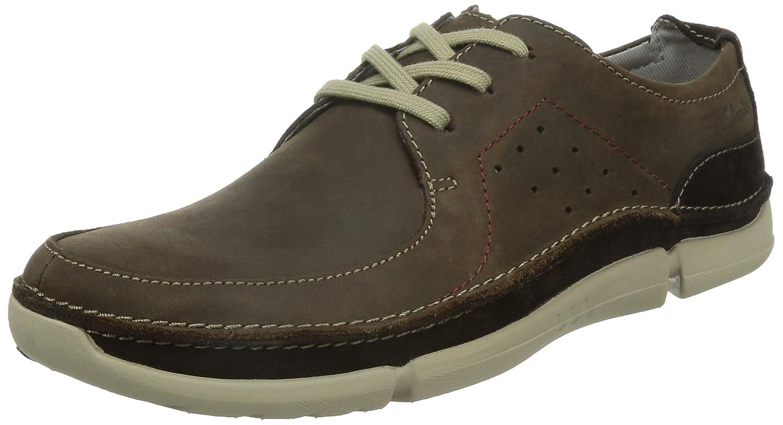 TALLA 42 EU. Clarks Trikeyon Fly, Zapatos de Cordones Derby para Hombre