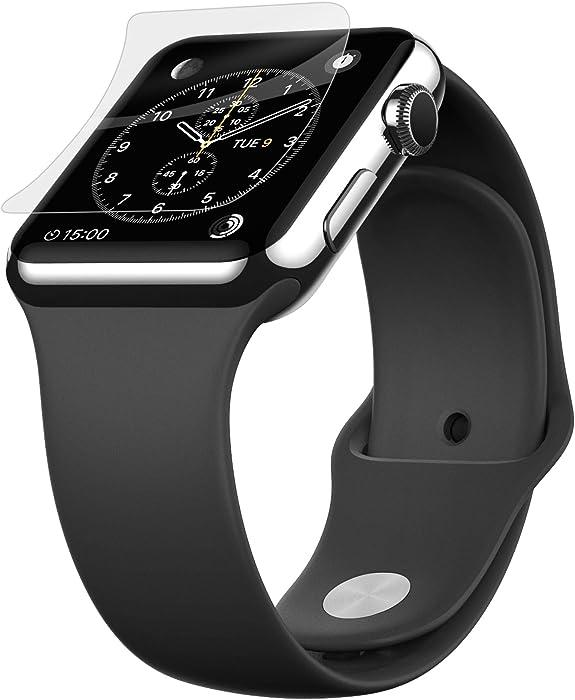 Belkin ScreenForce InvisiGlass Advanced Flexible Glass Screen Protector for Apple Watch Series 2, Apple Watch, Apple Watch Edition and Apple Watch Sport (42mm)