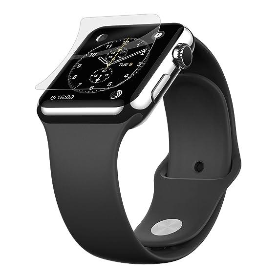 the latest a999d ba1aa Belkin ScreenForce InvisiGlass Advanced Flexible Glass Screen Protector for  Apple Watch Series 2, Apple Watch, Apple Watch Edition and Apple Watch ...