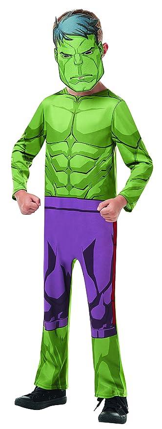 Halloween enia - Disfraz de Hulk Classic para niños de Avengers ...