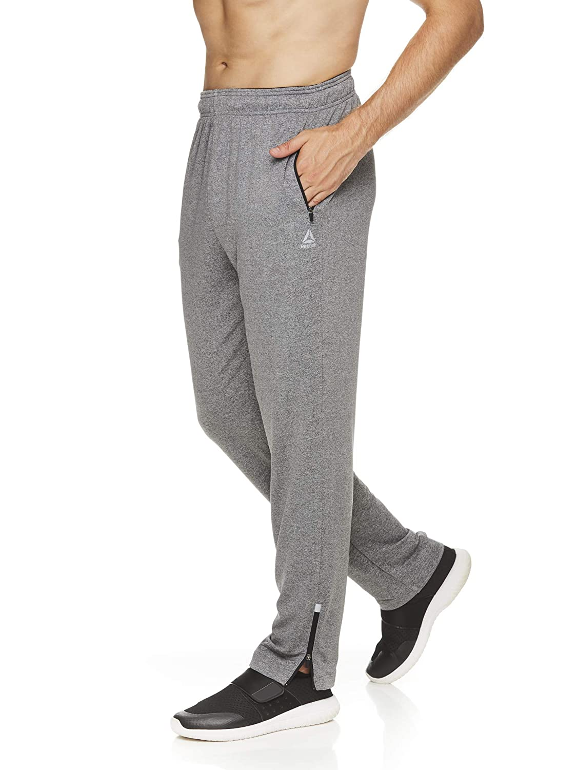 Reebok Mens Track & Running Pants with Pockets - Athletic ...