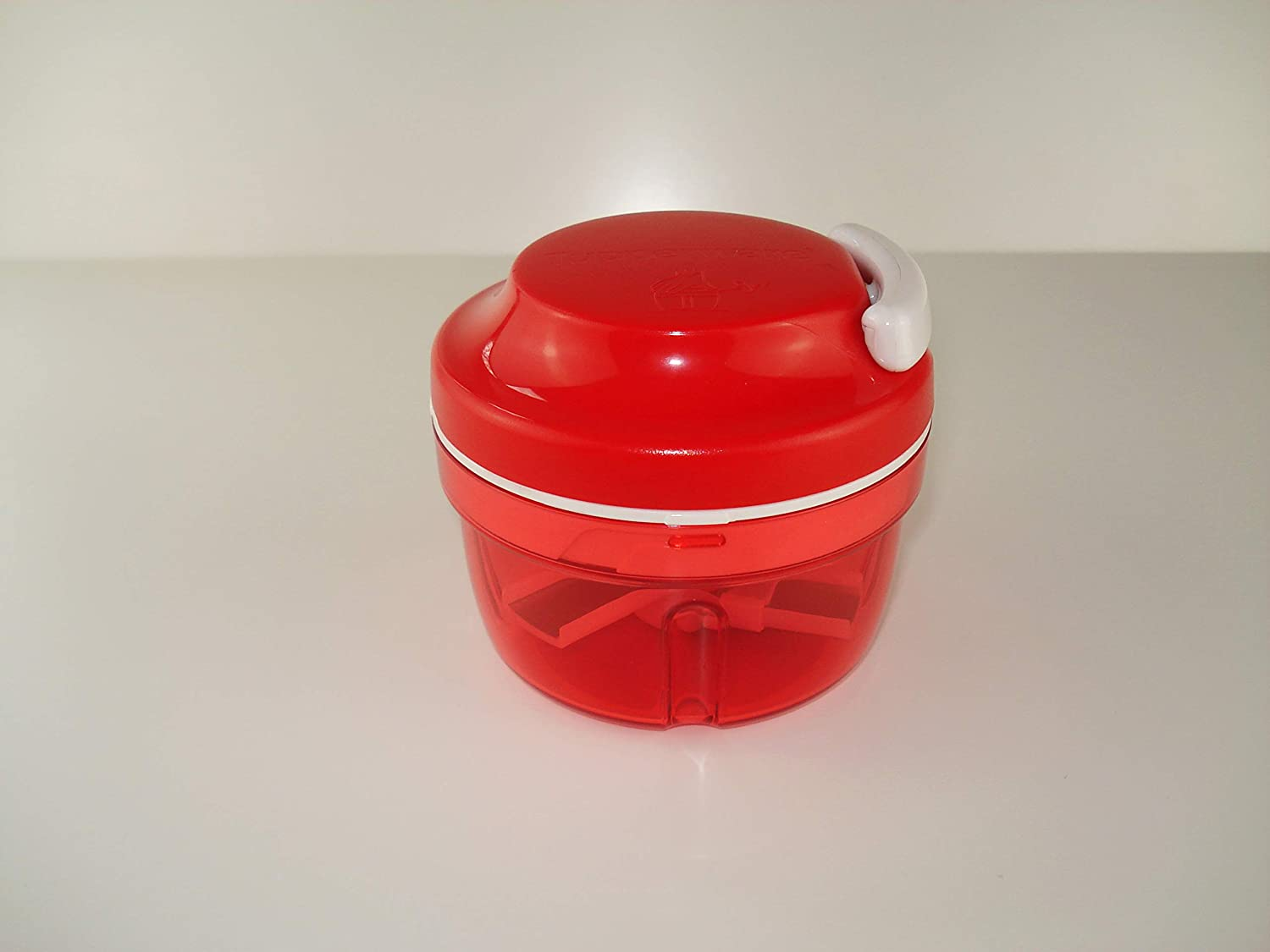 Tupperware Turbo de Chef Cortador de Cebolla Chef Speedy Boy Rojo 10124