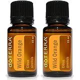 doTERRA Wild Orange Essential Oil 15 ml by doTERRA,pack of 2