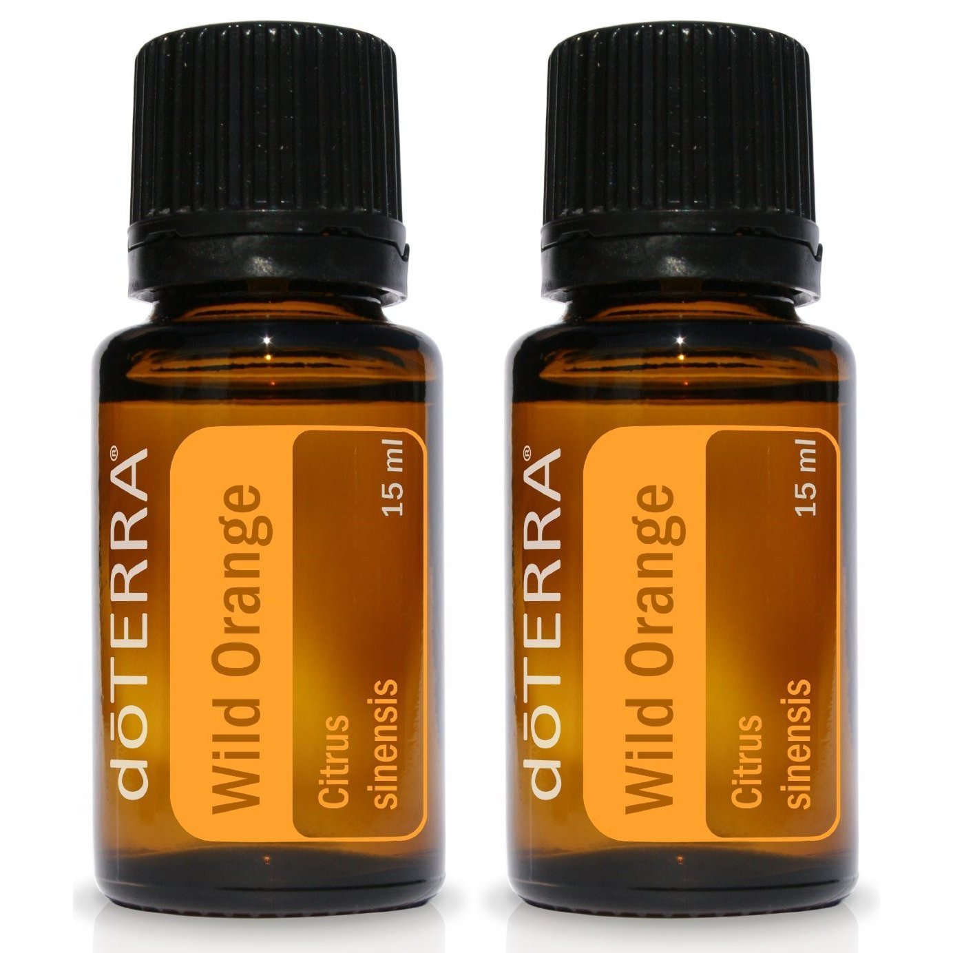 doTERRA Wild Orange Essential Oil 15 ml by doTERRA, pack of 2