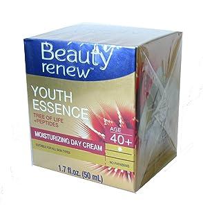 Beauty Renew Youth Essence Tree of life + Peptides Smoothing Moisturizing Day Cream 40+
