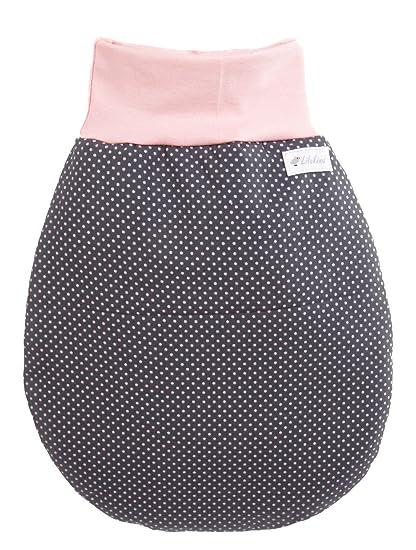 Annsfashion Saco Saco de Dormir Sleeping Saco Lila Infantil Puntos de otoño/Invierno Gris Rosa Grau Rosa XL: Amazon.es: Ropa y accesorios