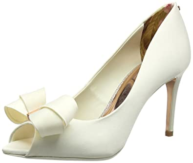 71c7553ab4ab TED BAKER WOMENS VYLETT OPEN TOE HEELS  Amazon.co.uk  Shoes   Bags