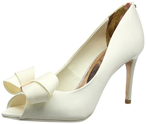 Zapatos blancos de punta abierta Ted Baker para mujer wl6jEwEAPc
