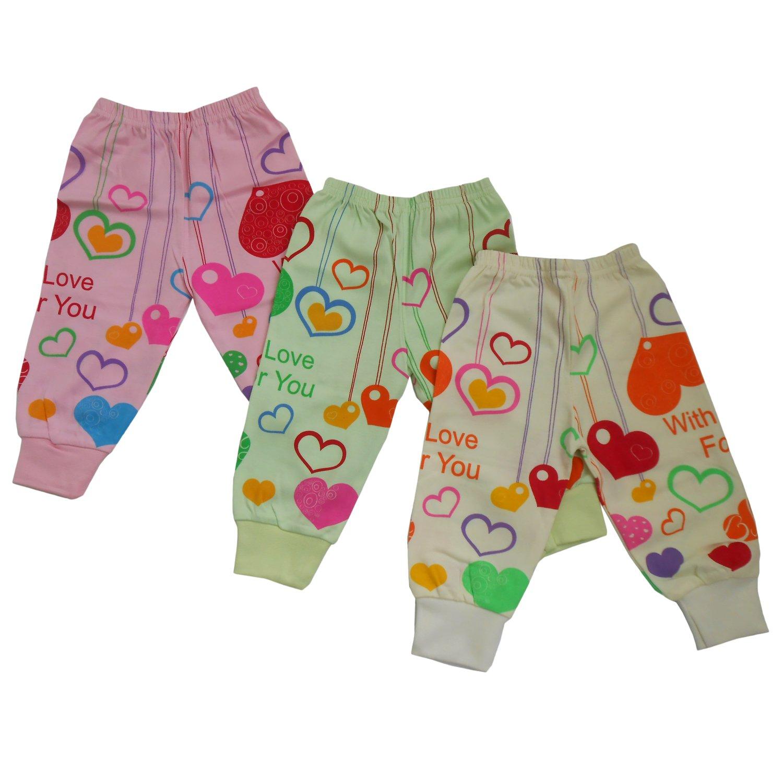 6bb9e0b79 NammaBaby Leggings Ribbed Pajamas for New Born Baby Heart Print- Set ...