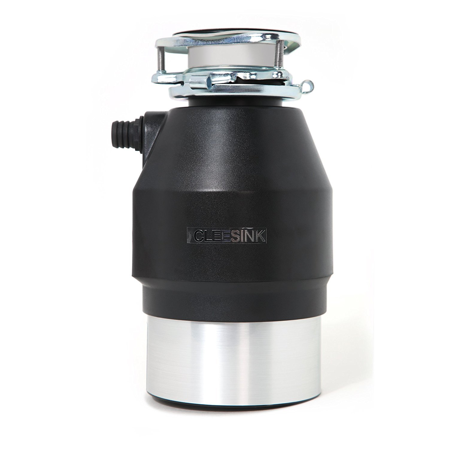 Cleesink 1 HP Powerful Food Waste Disposal, Kitchen Garbage Countunues Feed Disposal, 1.0 Horsepower, AC Motor