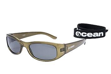 46ff710047fe3 Ocean Sunglasses - Bali - lunettes de soleil polarisées - Monture   Vert  Transparent - Verres