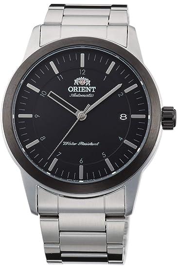 Orient Reloj Analógico para Hombre de Automático con Correa en Acero Inoxidable FAC05001B0: Amazon.es: Relojes
