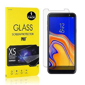Amazon.com: Protector de pantalla para Galaxy J4 Plus 2018 ...