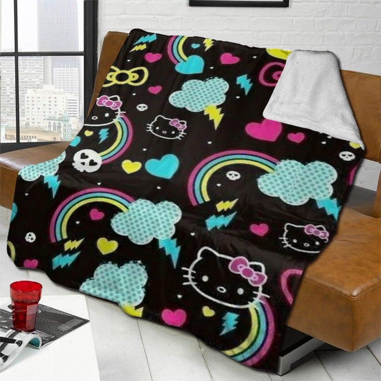 Hello Kitty Blanket Anime Blankets and Throws Fuzzy Blanket Hello Kitty Baby Crib Comforter 50
