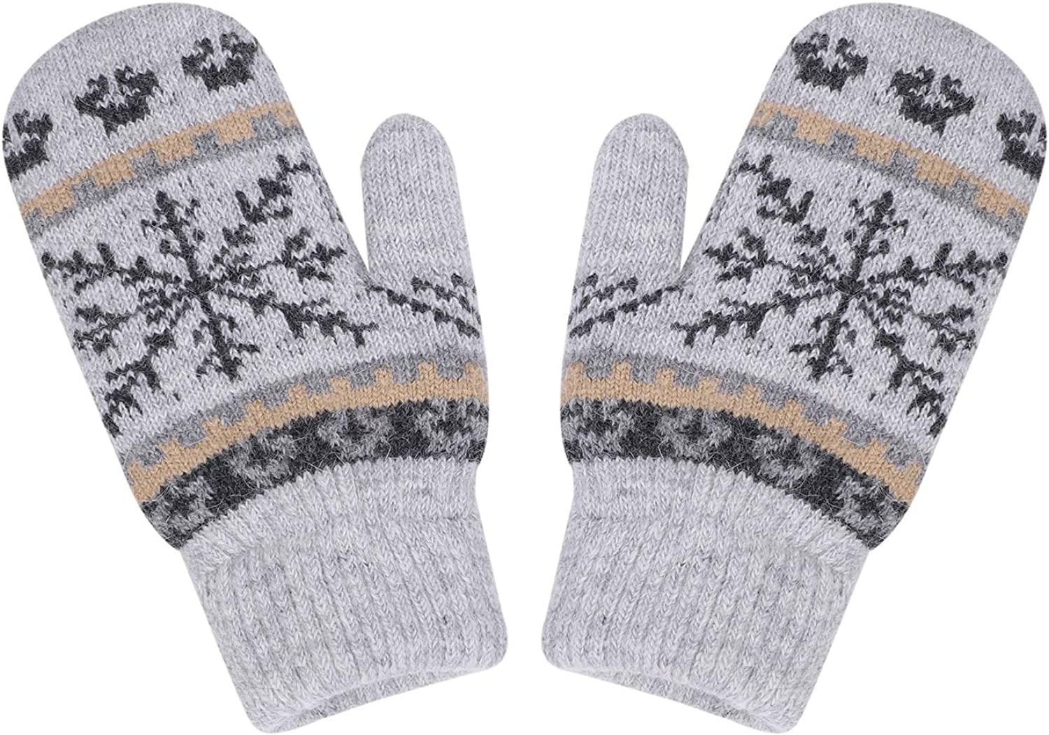 Women Winter Knit Mittens...