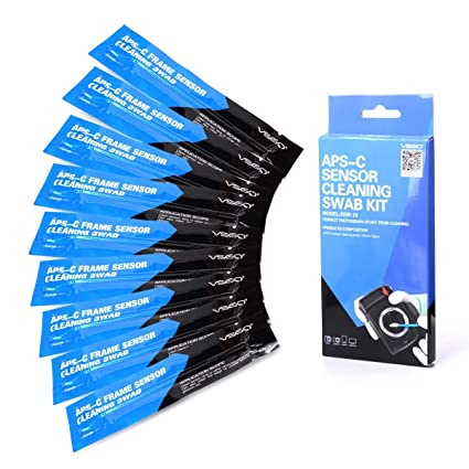 XCSOURCE® Kit de Limpieza Frame 10pcs Seco CCD SWAB APS-C para ...