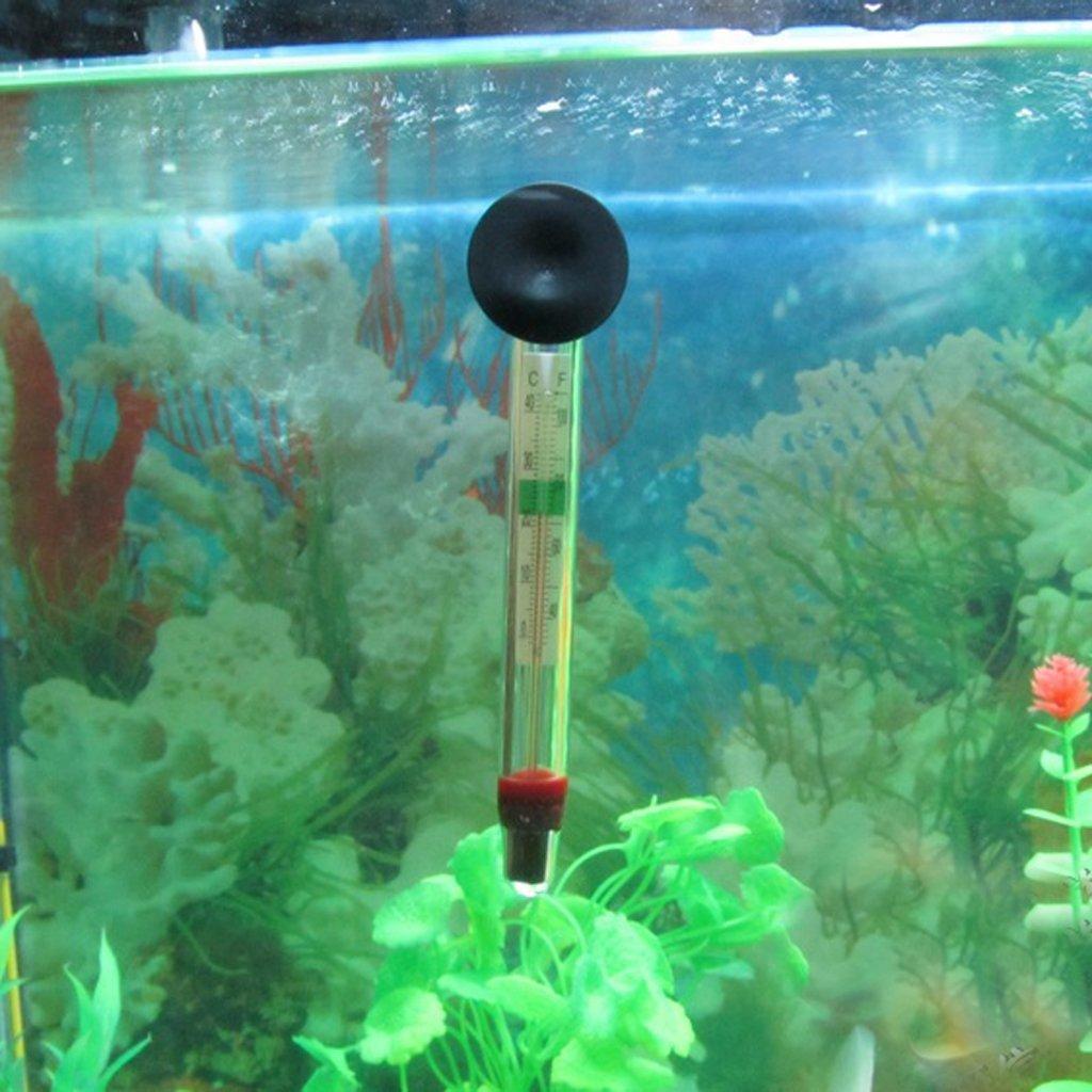 Romote Aquarium Fish Tank thermom/ètre flottant jauge de temp/érature