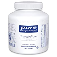 Pure Encapsulations CholestePure | Supplement to Support Cardiovascular and Prostate Health, Enzyme Function, and Lipid Metabolism* | 180 Capsules