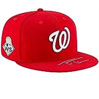 $183 » Trea Turner Washington Nationals Autographed 2019 World Series Champions New Era Baseball Cap - Fanatics Authentic Certified