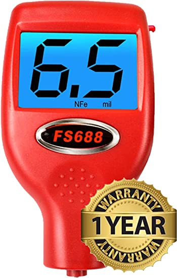 FenderSplendor FS688 Paint Meter//Gauge Avoid $3000 Losses When You Miss Paintwork. 15,000 Meters Sold to Date Sold and Warrantied in the USA with 3 Year Exchange Warranty