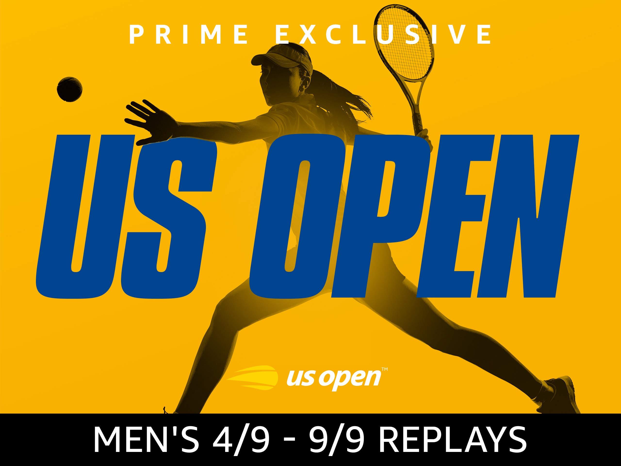 US Open Tennis 2018 Men's Finals Replays on Amazon Prime Video UK