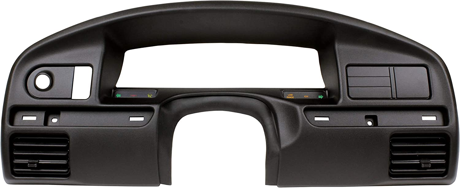IAMAUTO 10090 Instrument Cluster Bezel Dash Panel Trim Surround for (Gas Engines Only) 1994 1995 1996 1997 Ford F Series F150 F250 F350 Super Duty and fits 1994-1996 Ford Bronco